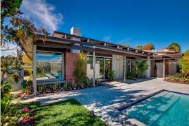 Midcentury Modern Homes For Sale - mid century modern home with views bel air real estate