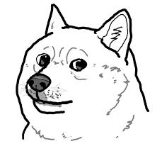 Meme Cartoon - cartoon doge blank template imgflip