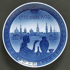royal copenhagen bicentennial plate at replacements ltd