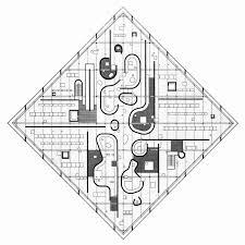 john hejduk floor plan diamond house 1967 hejduk john
