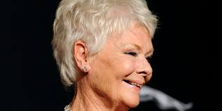 judi dench hairstyle front and back of head yep judi dench considered getting a tattoo for her 80th birthday