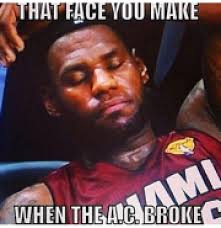 Air Conditioning Meme - hotmessfolder memes poke fun at miami heat for not taking the