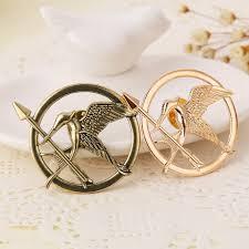aliexpress com buy the hunger games bird brooch pin badge