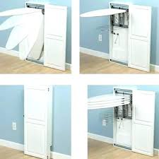 wall mount ironing board cabinet white wall mounted ironing board cabinets pull down cabinet in laundry