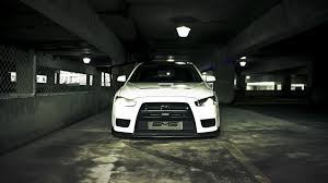 Cars Mitsubishi Lancer Evolution X Vehicles White 15633 Walldevil