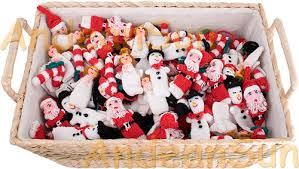 knitted christmas knitted christmas finger puppets rustic quality