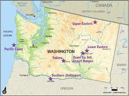 Map Washington State Map Of Moses Lake Wa Image Gallery Hcpr