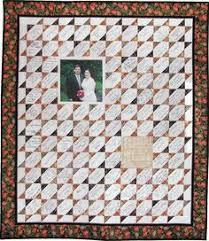 wedding autograph frame a wedding quilt your guests write messages on the fabric not