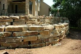 Stone For Garden Walls by Natural Stone Retaining Walls