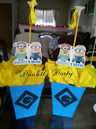 minions centerpieces minion centerpiece ideas sweet centerpieces