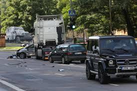 mercedes g class brabus avarija sujaukė eismą vilniaus centro prieigose apgadintas ir