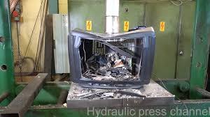 how the u0027hydraulic press channel u0027 found fame destroying stuff on