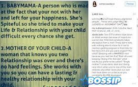 Baby Mama Meme - tara wallace slammed by fans for baby mama meme on instagram