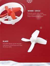 jjrc h67 flying santa claus rc quadcopter rtf white