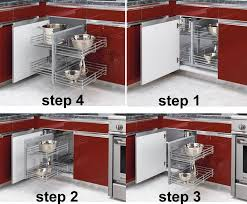 blind corner kitchen cabinet inserts solving the blind corner cabinet dilemma in your denver