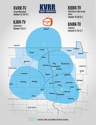 Tv Reception Map Coverage Map Kvrr Local News
