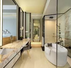 bathroom at keraton at the plaza a luxury collection hotel