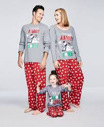 family pajamas snowflake meltdown pajama sets created for macy s