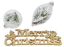pine tree in snow globe stock photo image 17179900
