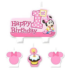 minnie mouse 1st birthday american greetings minnie mouse 1st birthday candles