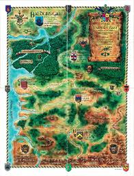 Forgotten Realms Map The Whole Maps Of Baldur U0027s Gate U2014 Beamdog Forums