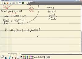 college algebra online chapter 4 test review youtube