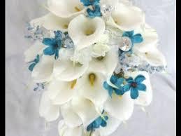 Cascading Bouquet Cascading Calla Lily Wedding Bouquet Youtube