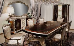 Luxurious Dining Rooms High End Dining Room Furniture With Great Craftsmanship Model