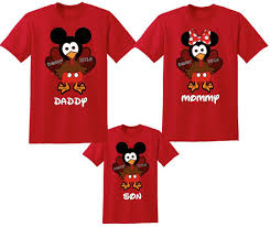 disney mickey and minnie mouse thanksgiving family vacation t