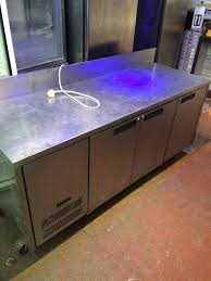 counter bench fridge worktop fridge for cafe shop takeaway