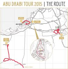 Qatar Route Map by 2015 Abu Dhabi Tour Live Video Preview Startlist Results