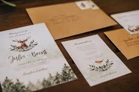 rustic chic wedding invitations rustic chic wedding guide snow creek larkspur