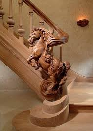 rearing carved banister i don t expect to try this