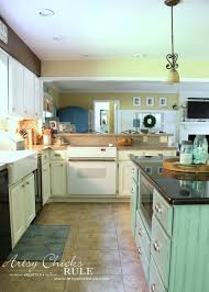 Chalk Paint On Kitchen Cabinets by Kitchen Cabinet Makeover Annie Sloan Chalk Paint Artsy