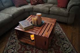 How To Make Wine Crate Coffee Table - coffee table stupendous wine crate coffeele image inspirations