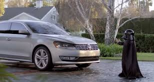 dark green volkswagen super bowl ccommercials vw u0027s the force changed advertising time