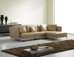 Leather Modern Sectional Sofa Modern Sectional Sofas Of Fabric And Leather