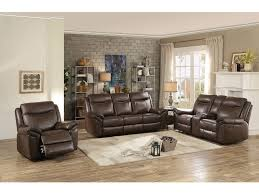 homelegance living room d reclining sofa with drop down cup