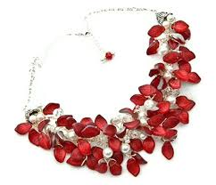 red necklace statement images Red statement necklace best template collection jpg
