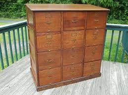 Antique Wood File Cabinets by Furniture Antique Oak Mobile File Cabinets Mobile File Cabinets