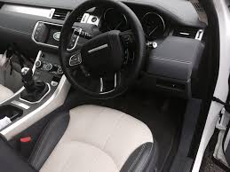 land rover evoque interior in review range rover evoque ed4 se tech