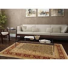 home dynamix antiqua cream red 7 ft 8 in x 10 ft 2 in indoor