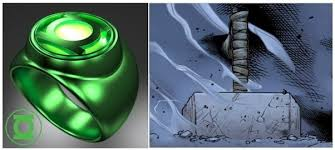 which is more powerful thor s hammer mjolnir or green lantern s