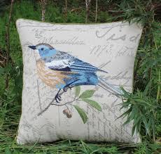 popular 16x16 decorative pillows buy cheap 16x16 decorative vezo home embroidered bird sofa home decorative cushions cover throw pillows cover chair seat pillow case