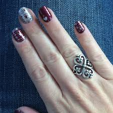 avery adorned hearts ring the heart nails and the adorned hearts ring for manimonday