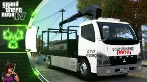 mitsubishi truck mitsubishi fuso canter auto rescue gta 4 truck mod youtube