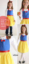 Snow Clothes For Toddlers Free Sewing Pattern For Snow White Princess Dress Up Apron Diy