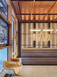 Hotel Lobby Reception Desk by Crème