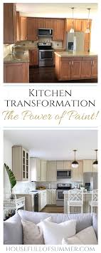 what color should i paint my kitchen with gray cabinets kitchen cabinet paint color reveal before after house