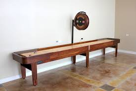 ricochet shuffleboard table for sale a guide to shuffleboard sizes and your homemcclure tables